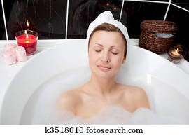 beautiful-woman-relaxing-in-a-bubble-stock-photography__k3518010 Arab Internet TELEVISION - The Lowdown