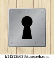 Keyhole Clipart EPS Images. 7,131 keyhole clip art vector ...