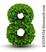 失量树叶-第4图库,从,绿色的数字网装修室内设计图片