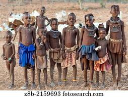 Les femmes Himba près dOpuwo, Namibie Photo Stock - Alamy