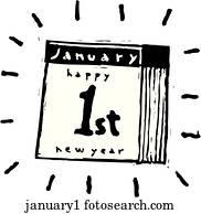 januar, 1.