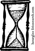 stunde glas
