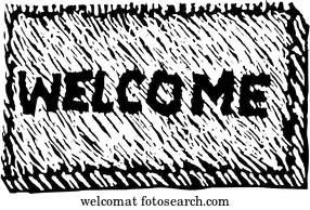 Welcome Mat Clip Art | Our Top 161 Welcome Mat Vectors