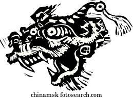 china, maske