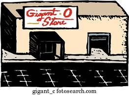 Giganto, kaufmannsladen
