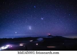 Cielo stellato archivi fotografici cielo stellato for Febbre da cabina grande orso lago ca