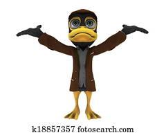 duck detective