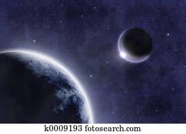 M 667 Spacescape
