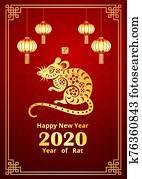 chinesisches neues jahr, 2020, 3