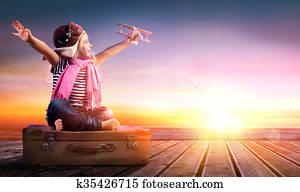 Dream journey - Little Girl