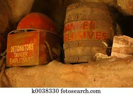 Danger Explosives