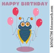 Birthday Bug