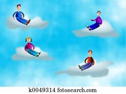 Cloud People