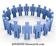 Company circle.