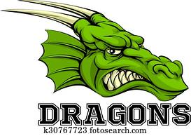 Dragons Mascot