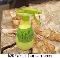 Homemade bug spray