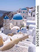 Santorini churches 2
