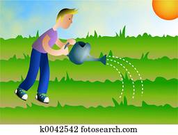 Watering the Earth