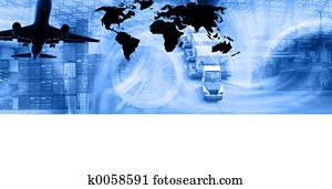 Freight Template-Blu