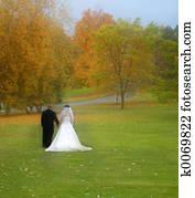 Bride & Groom field
