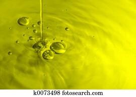 Olive Oil Bubbles