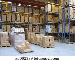 At A Warehouse