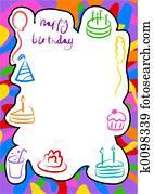 birthday border