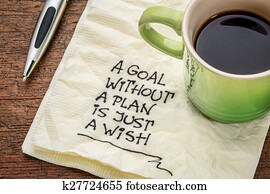 goal without plan is just wish
