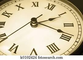 Old Clock Face