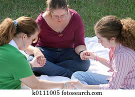 Teen Prayer Circle 1