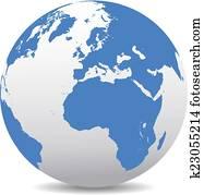 Europe and Africa, Global World