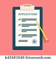 Vector Application Form