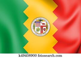 +++Flag of Los Angeles,_California