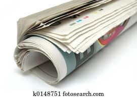Roll of Newspaper