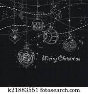 Sparkling Christmas Ornaments