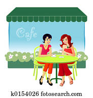 At The Cafe