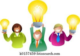 bulb people