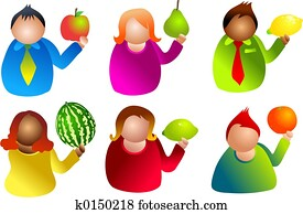 fruit people