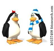 penguin cartoons