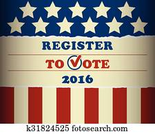 USA 2016 Register To Vote