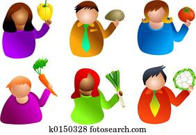 vegetable people