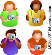 camera people