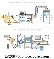 Mobile app development concepts