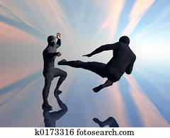 Two ninja in fight 2.
