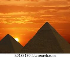 Sunrise Pyramids