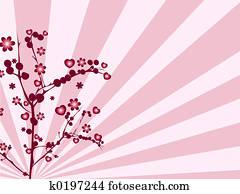 Dibujo Amor árbol K1071103 Buscar Clip Art Ilustraciones De