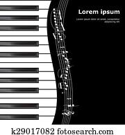 klavier, abbildung