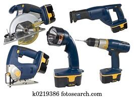 Cprdless Tool Set