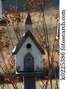 Birdhouse church