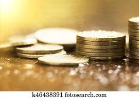 Save money coins